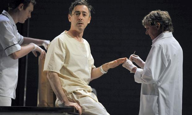 Alan Cumming in the Lincoln Center Festival's 'Macbeth.'