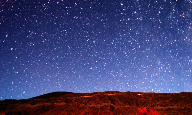 star gazing on Mauna Kea