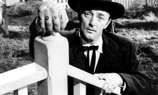 Robert Mitchum in 'The Night of the Hunter'