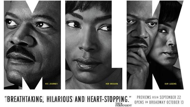Samuel L. Jackson and Angela Bassett star in 'The Mountaintop,' which is coming to Broadway this fall.