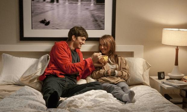 Ashton Kutcher and Natalie Portman in