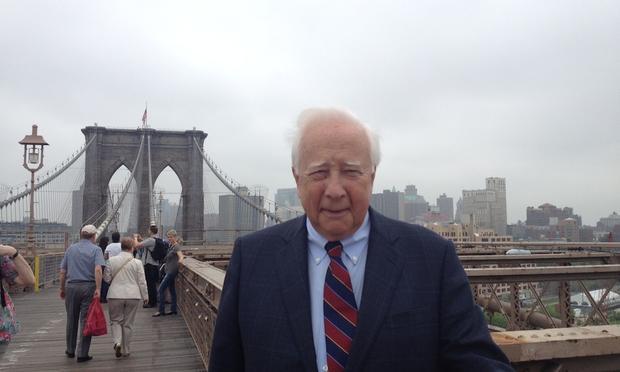 Historian David McCullough, author of The Great Bridge, on the Brooklyn Bridge.
