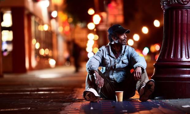 homeless, poverty, san francisco, night