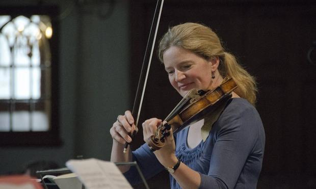 Rachel Podger, violinist