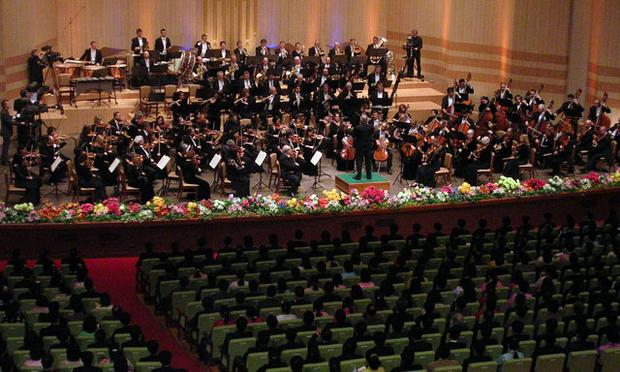 The New York Philharmonic Orchestra took an unprecedented trip to perform in North Korea.  WNYC was there.
