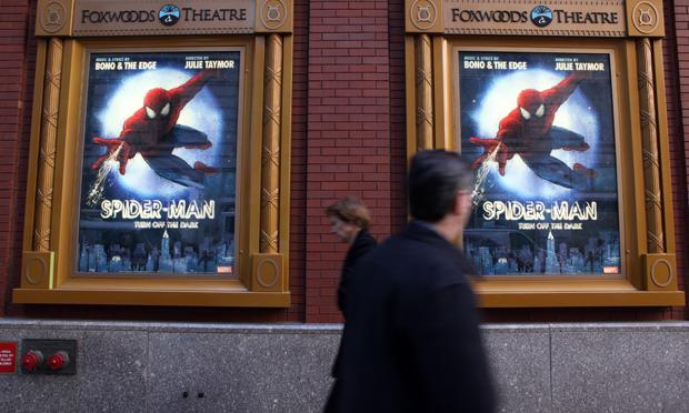 Spider-Man the musical on Broadway
