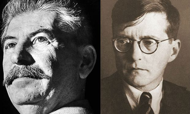 Joseph Stalin and Dmitri Shostakovich