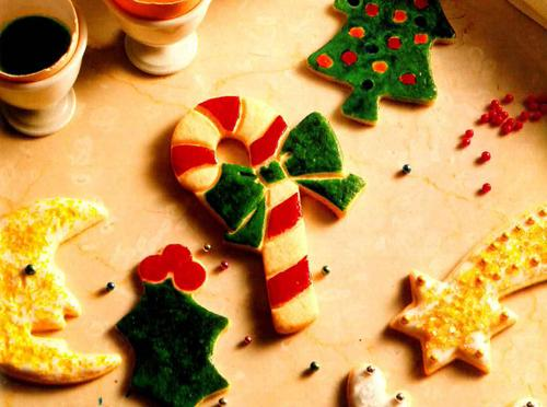 Traditional Rolled Christmas Sugar Cookies. 'Rose's Christmas Cookies'