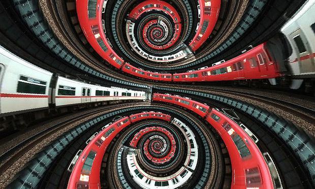 Train spiral