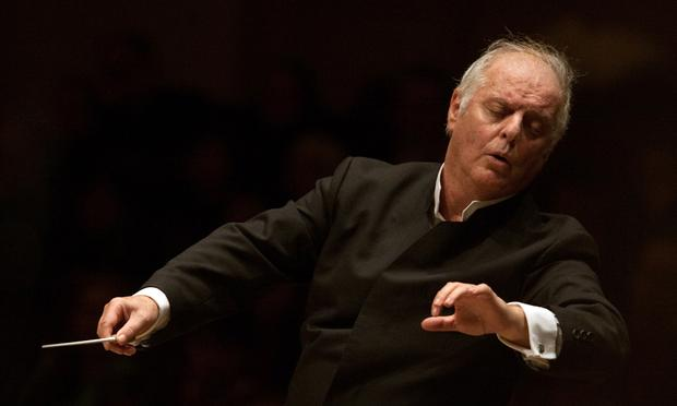 Daniel Barenboim, director and co-founder of the West-Eastern Divan Orchestra.