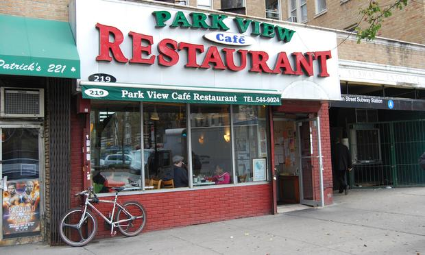 Park View Cafe Inwood