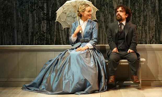 Taylor Schilling and Peter Dinklage in 'A Month in the Country.'