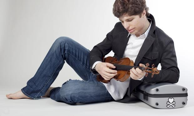 Violinist Augustin Hadelich.