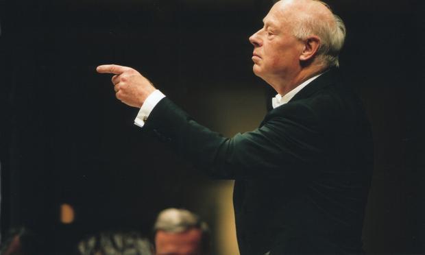 Conductor Bernard Haitink.