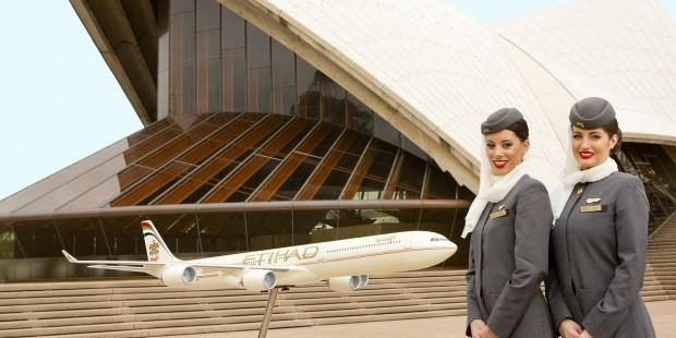 Sydney Opera House and Etihad Airways forge marketing deal