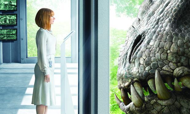 A still from Jurassic World