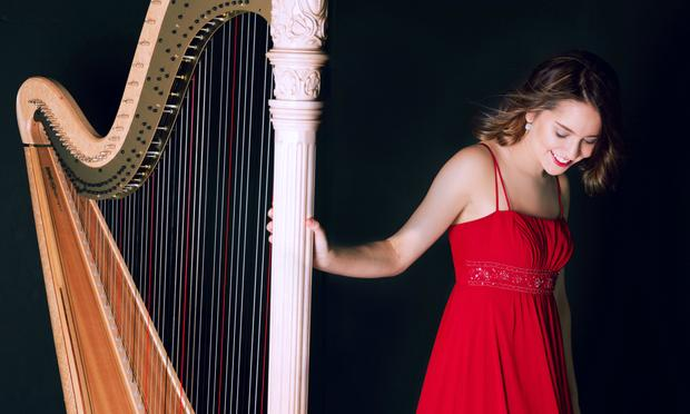 Harpist Katherine Siochi is featured on WQXR's Young Artists Showcase.