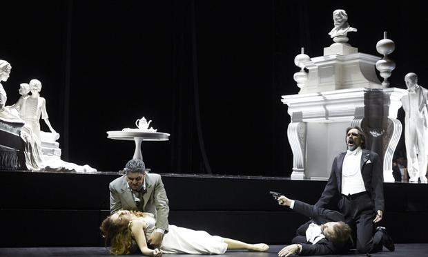 Verdi's 'Luisa Miller' from the Lausanne Opera in Switzerland.