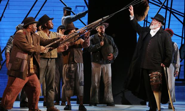 Jay Hunter Morris stars as Captain Ahab in the LA Opera production of 'Moby-Dick.'