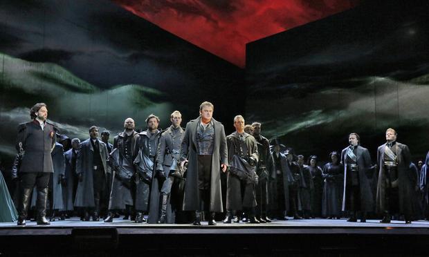 Bartlett Sher's production of 'Otello' at the Metropolitan Opera.