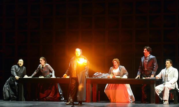 'Stiffelio' is presented at Teatro La Fenice in Venice.