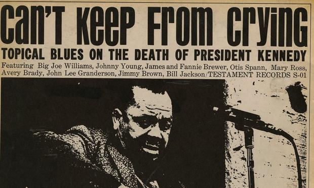 The album 'Can't Keep From Crying' was recorded in the weeks after the assassination of President Kennedy.