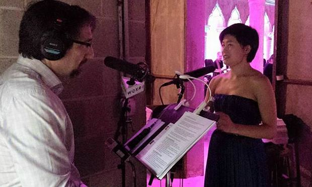Jeff Spurgeon interviews Jennifer Koh after her performance at the Caramoor Festival