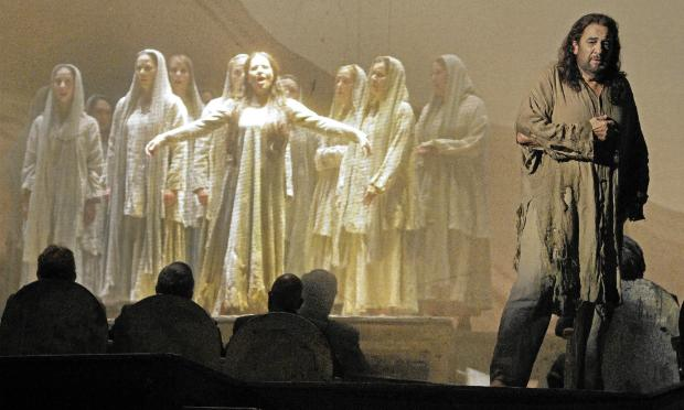 Massenet's 'Thais' stars Placido Domingo (right)