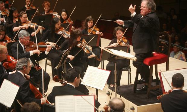 James Levine leads the Met Orchestra.