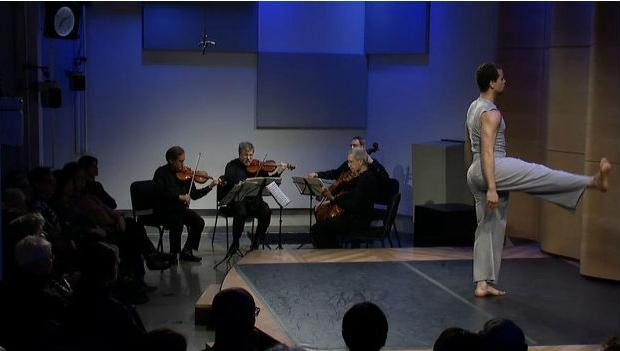 The Orion Quartet with Talli Jackson of the Bill T. Jones Dance Company