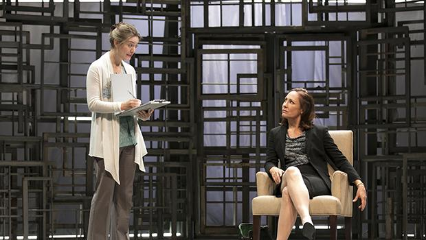 Zoe Perry and Laurie Metcalf in 'The Other Place' at MTC's Samuel J. Friedman Theatre.