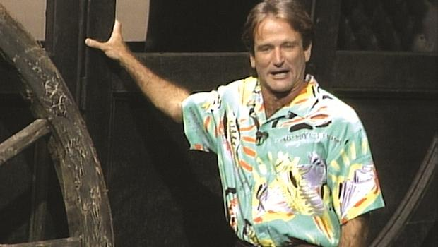 Robin Williams at the Metropolitan Opera