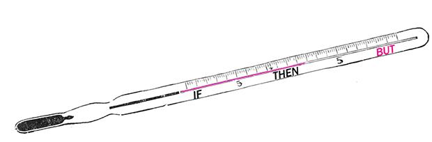 Illustration of a thermometer