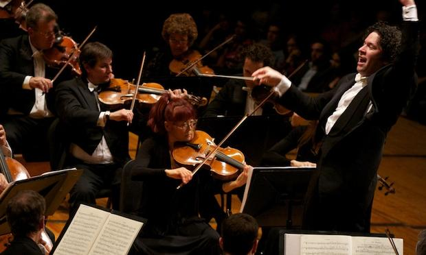 Gustavo Dudamel conducts the LA Philharmonic in Mahler's 9th Symphony in Caracas