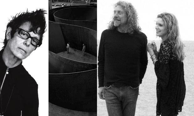Elizabeth Streb, The Work of Richard Serra, and Robert Plant and Alison Krauss