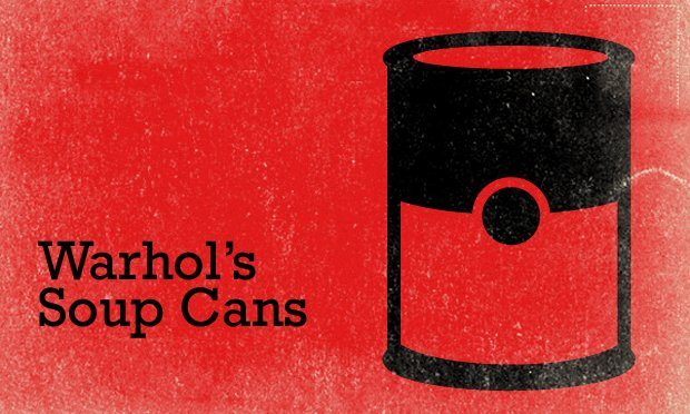 Campbell's soup cans, warhol Feature Card_Big2