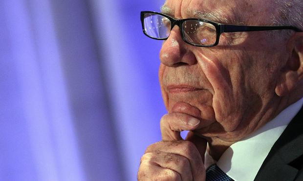 CEO Rupert Murdoch pauses as he delivers a keynote address at the National Summit on Education Reform on October 14, 2011 in San Francisco, California.