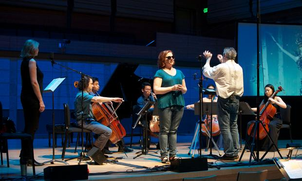 'Angel Heart, a musical storybook' performed at the San Francisco Conservatory of Music.