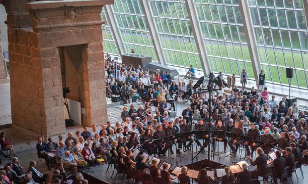 Arvo Pärt and Estonian Philharmonic Chamber Choir in The Temple of Dendur