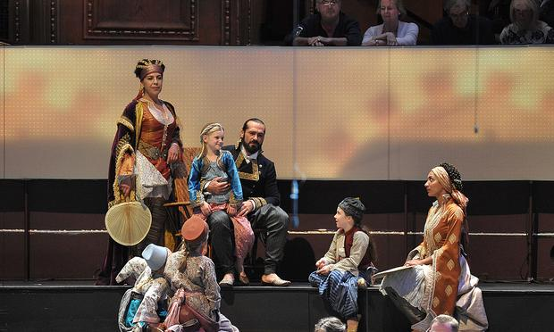 The Glyndebourne Festival's production of 'The Abduction from the Seraglio' at the BBC Proms in London.