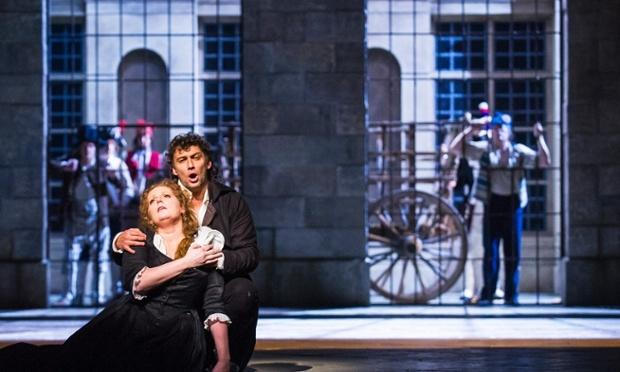 Giordano's 'Andrea Chénier' From the Royal Opera House starring tenor Jonas Kaufmann and soprano Eva-Maria Westbroek.