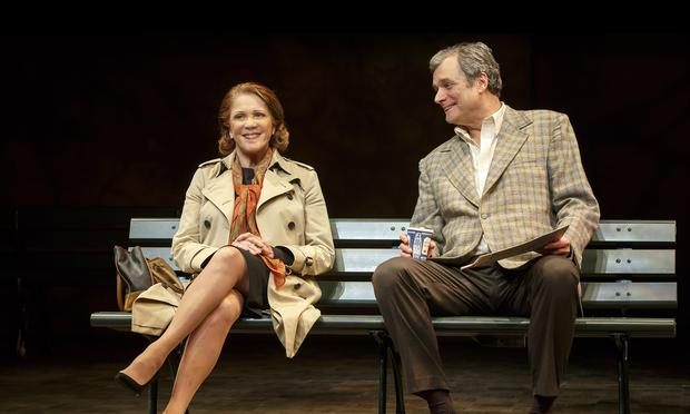 Linda Lavin and John Procaccino in 'Our Mother's Brief Affair.'