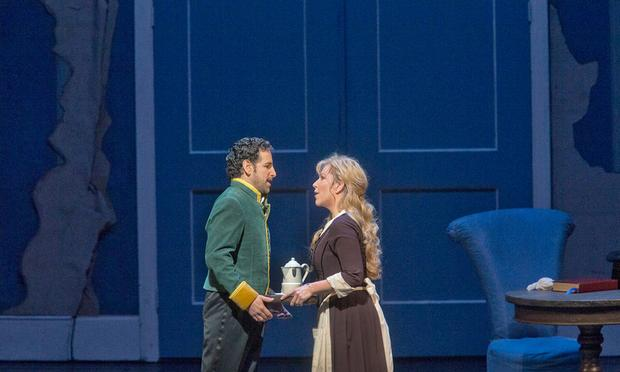 Juan Diego Flórez as Don Ramiro and Joyce DiDonato as Angelina in Rossini's 'La Cenerentola.'