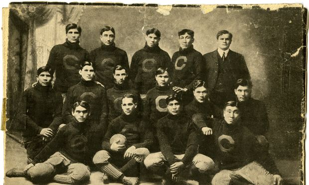 Carlisle Indian School's 1903 football team