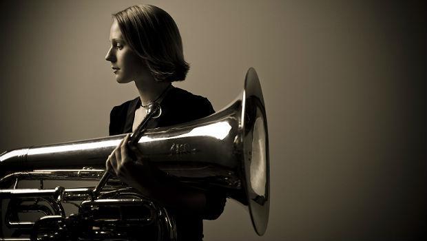 Carol Jantsch, tuba player, Philadelphia Orchestra