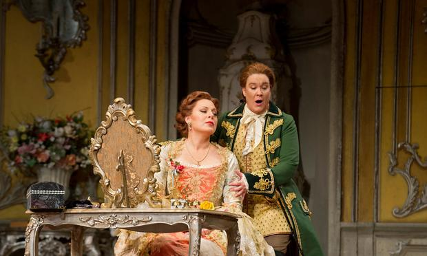 Martina Serafin as the Marschallin and Alice Coote as Octavian in Strauss's 'Der Rosenkavalier.'