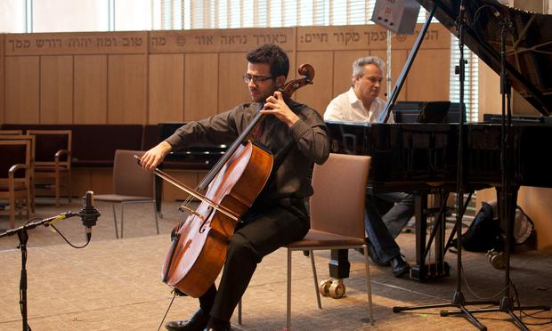 Eddie Pogossian and Christopher O'Riley play 'Prayer,' From Jewish Life by Ernst Bloch.