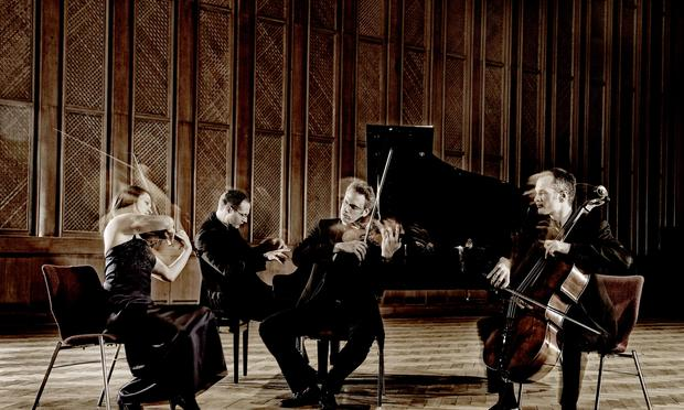 The Fauré Piano Quartet.