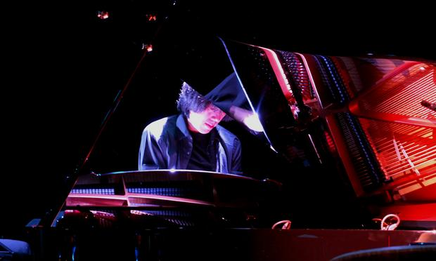 The music of John Cage at Le Poisson Rouge on July 8, 2012. Pianist Taka Kigawa performing 'Amores.'