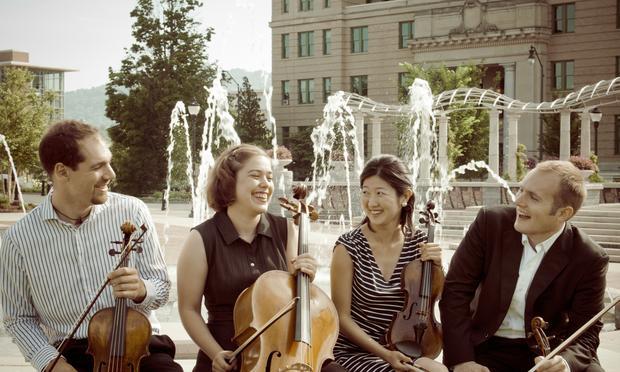 The Jasper String Quartet.